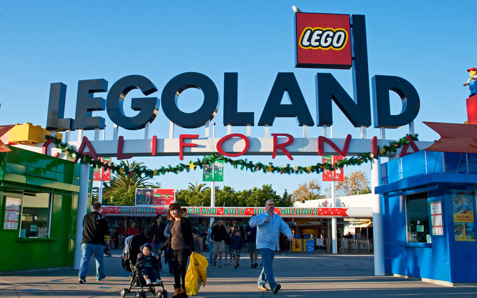 Entrance, Legoland, California