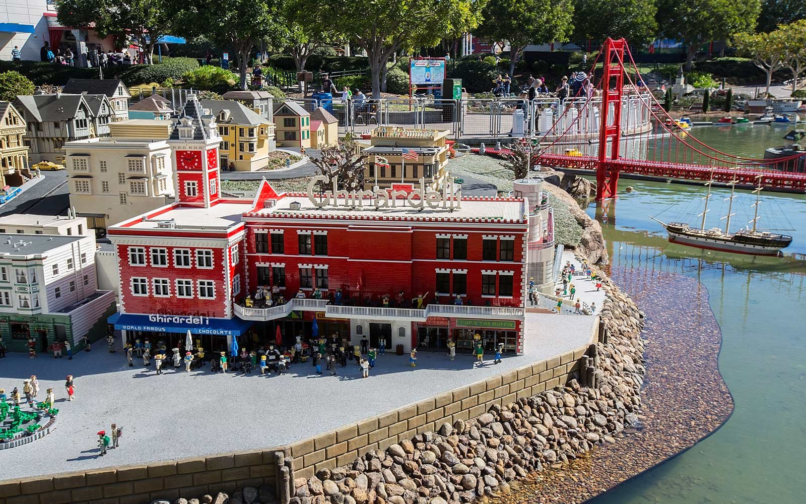 Miniland, San Francisco, Legoland, California