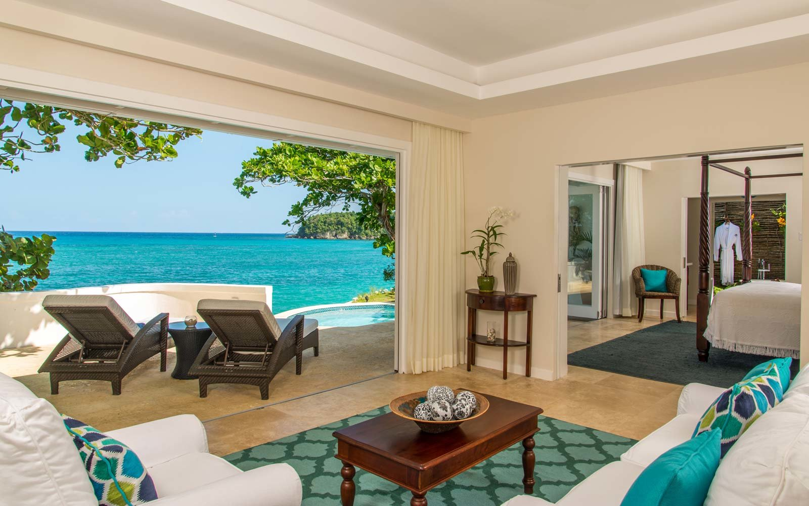 A beach house villa at Jamaica Inn