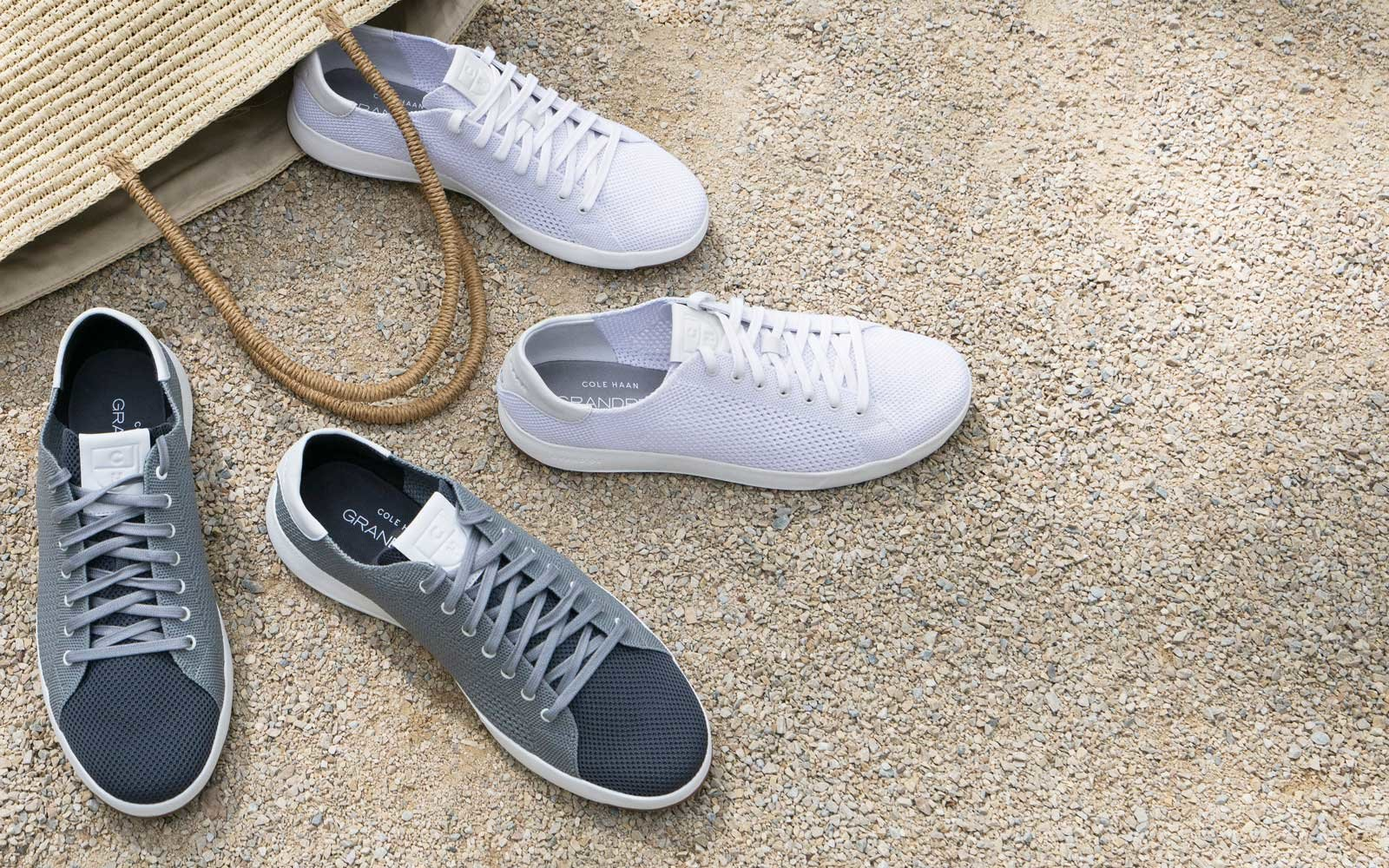 Cole Haan S New Knit Sneaker Is The Perfect Travel Shoe