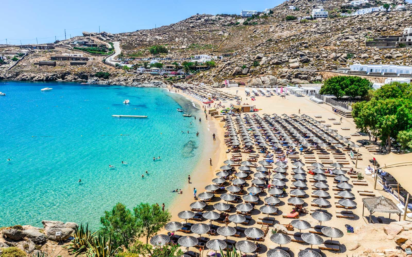 Paradise Beach - Mykonos, Greece