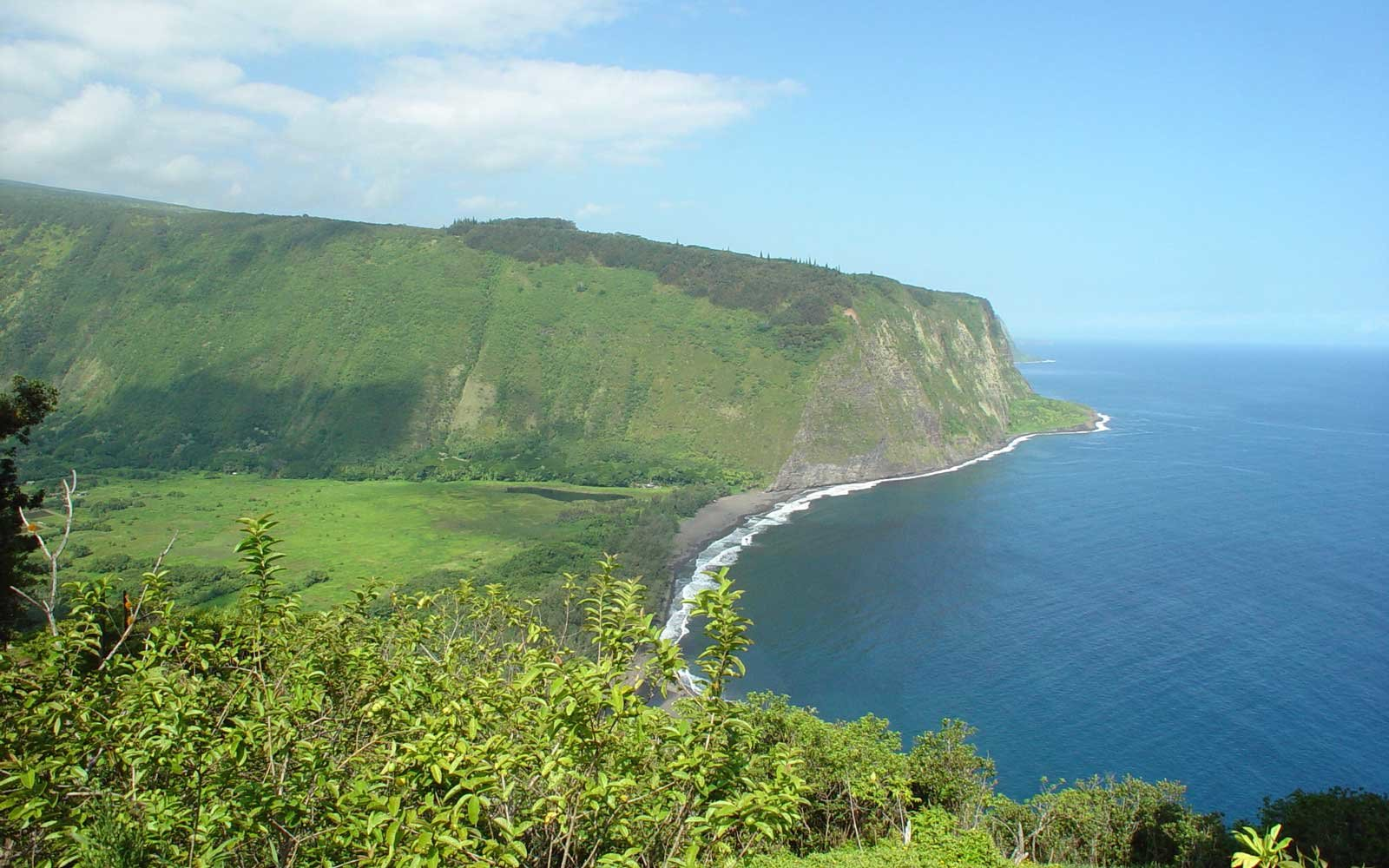 Waipio Valley, Big Island, Hawaii.