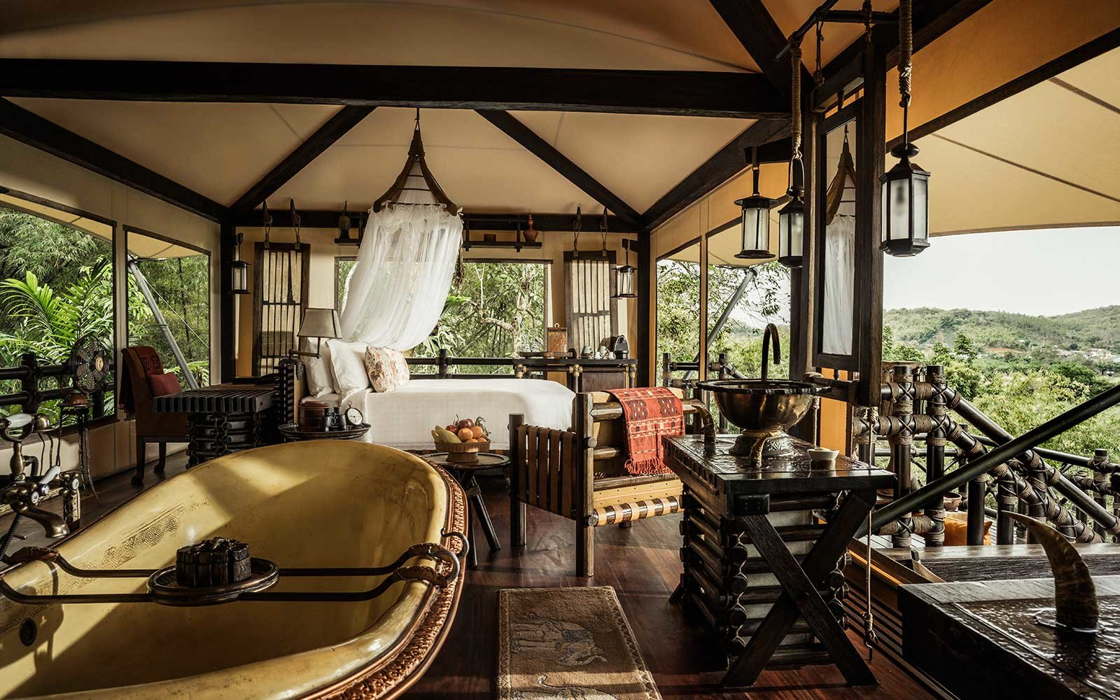 Four Seasons Tented Camp Golden Triangle Resort Hotel Southeast Asia