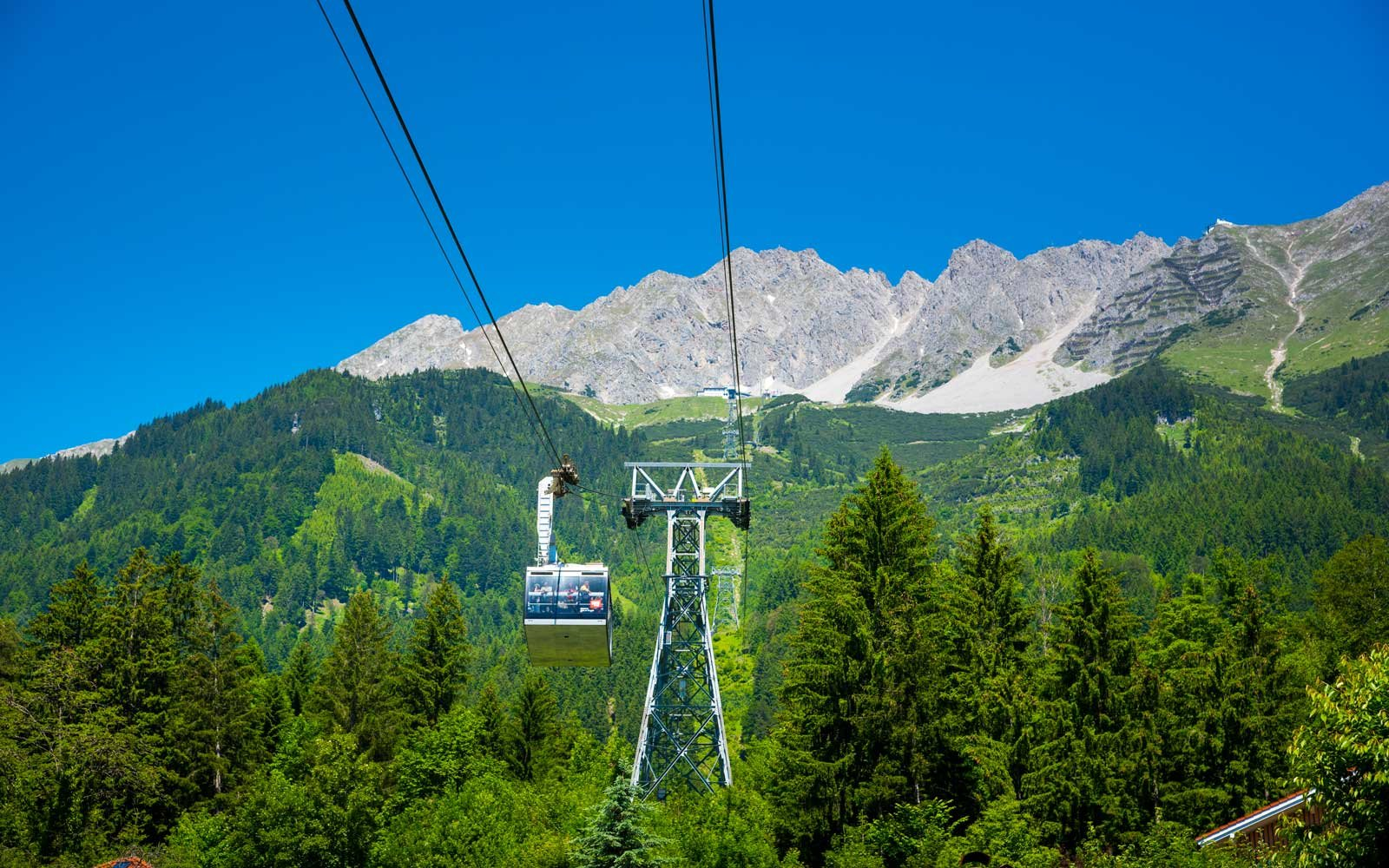 Cable Cars in Austria