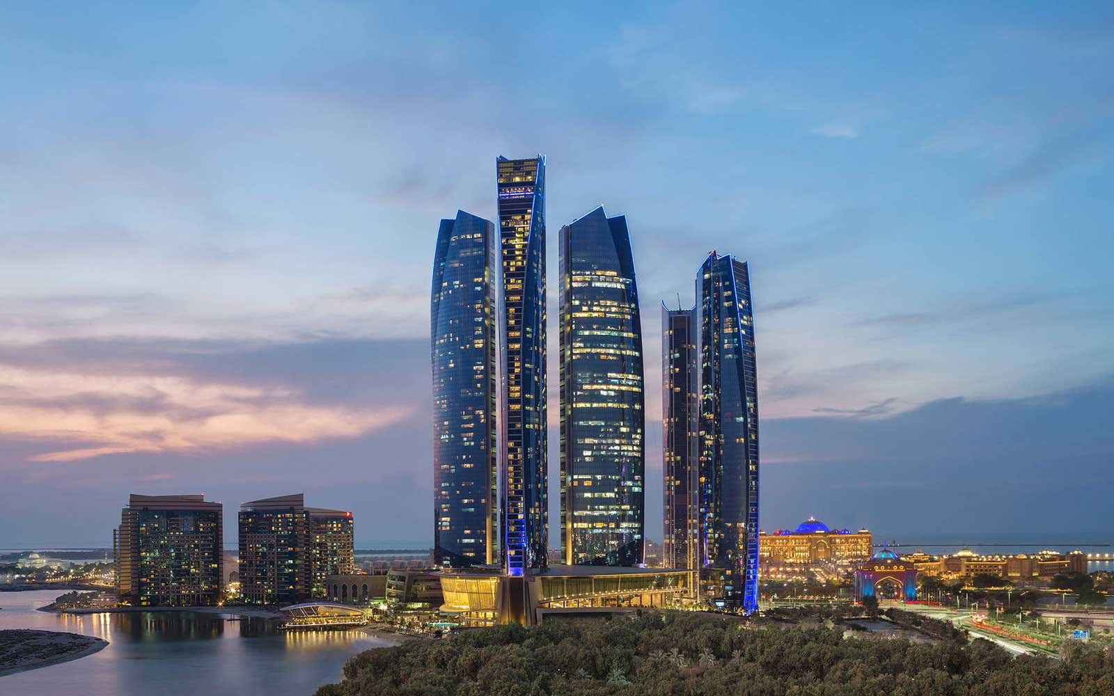 1. Jumeirah at Etihad Towers, Abu Dhabi