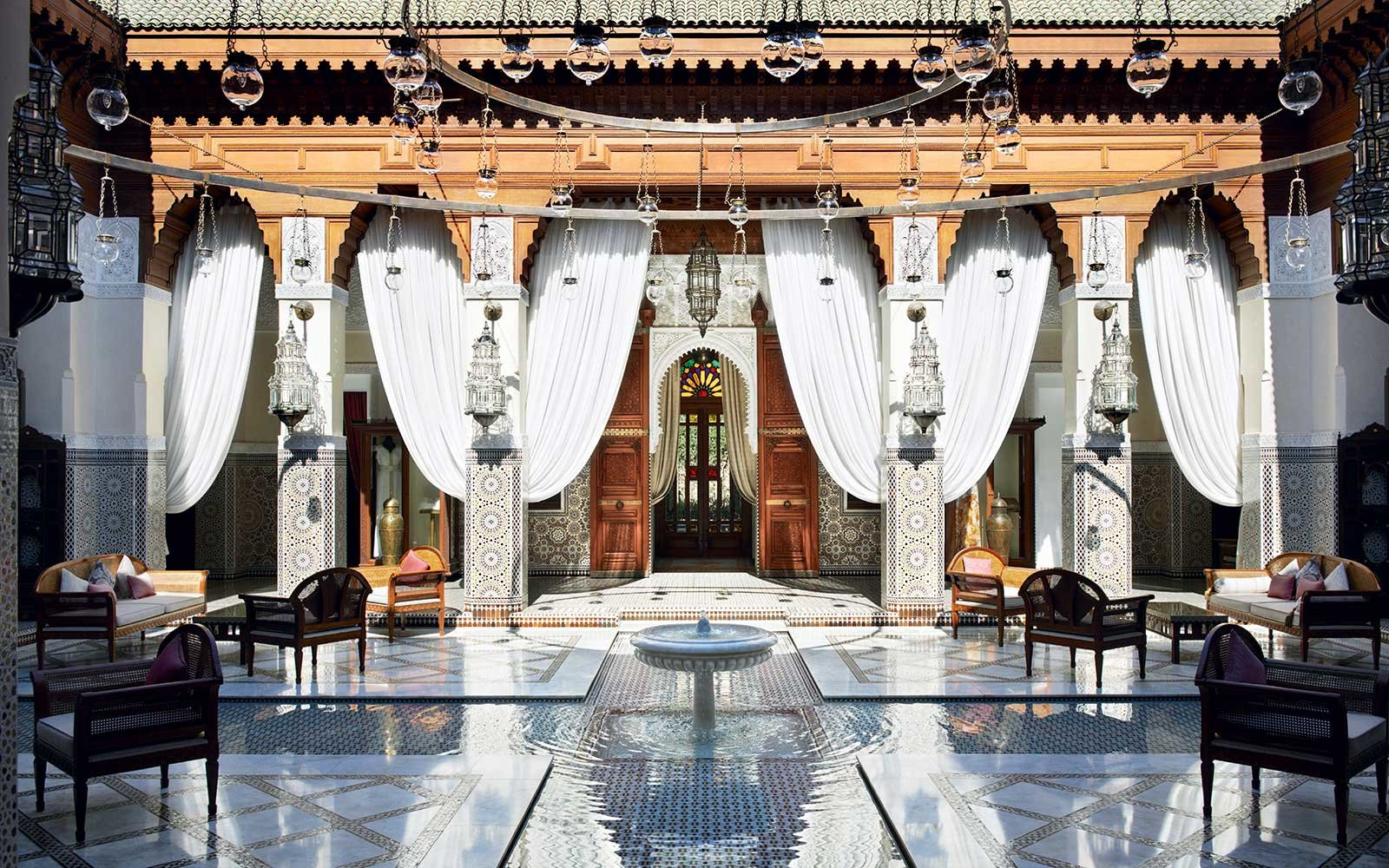 Royal Mansour Hotel in North Africa and Middle East