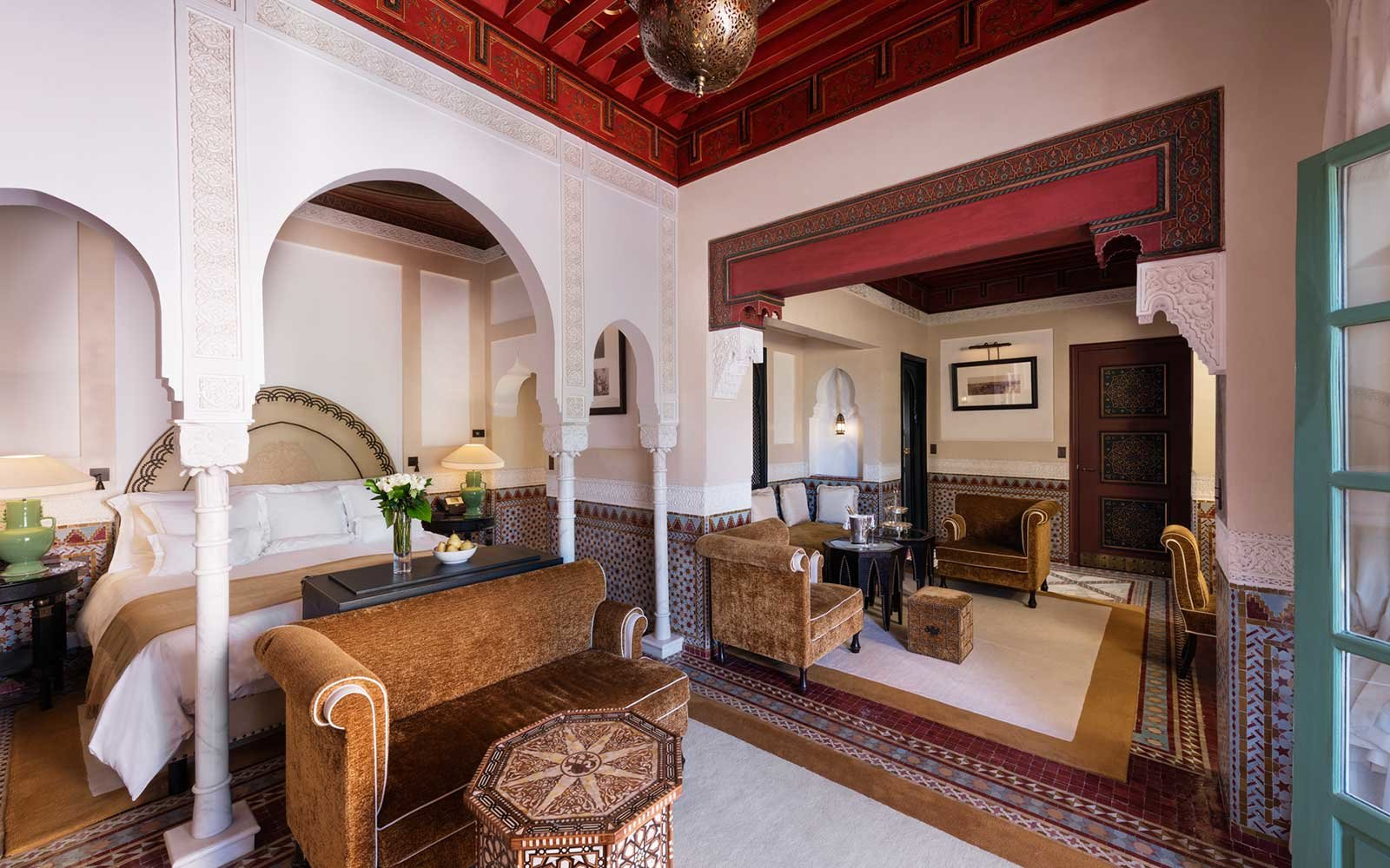 La Mamounia Hotel in North Africa and Middle East