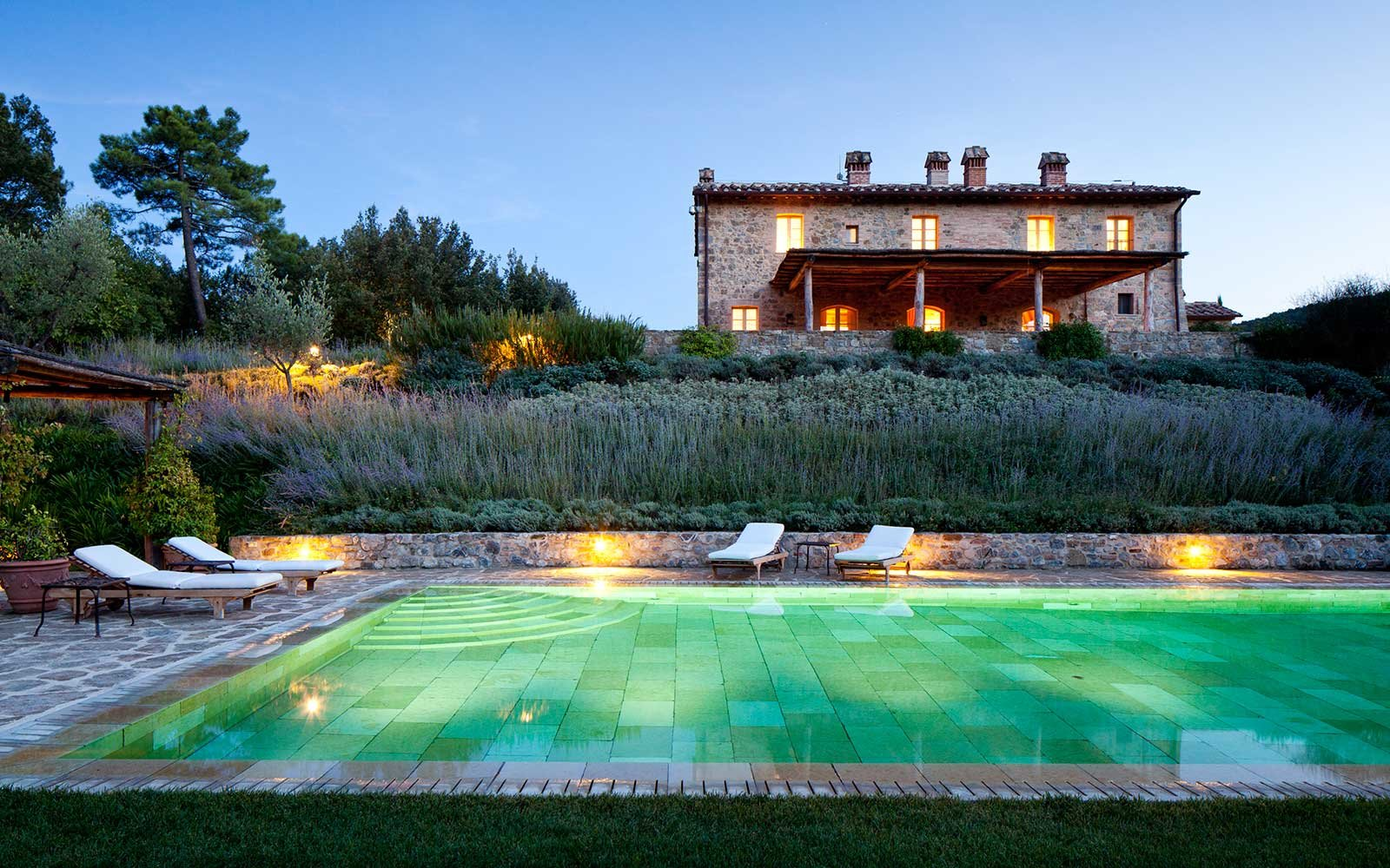 Rosewood Castiglion del Bosco Resort Hotel in Europe