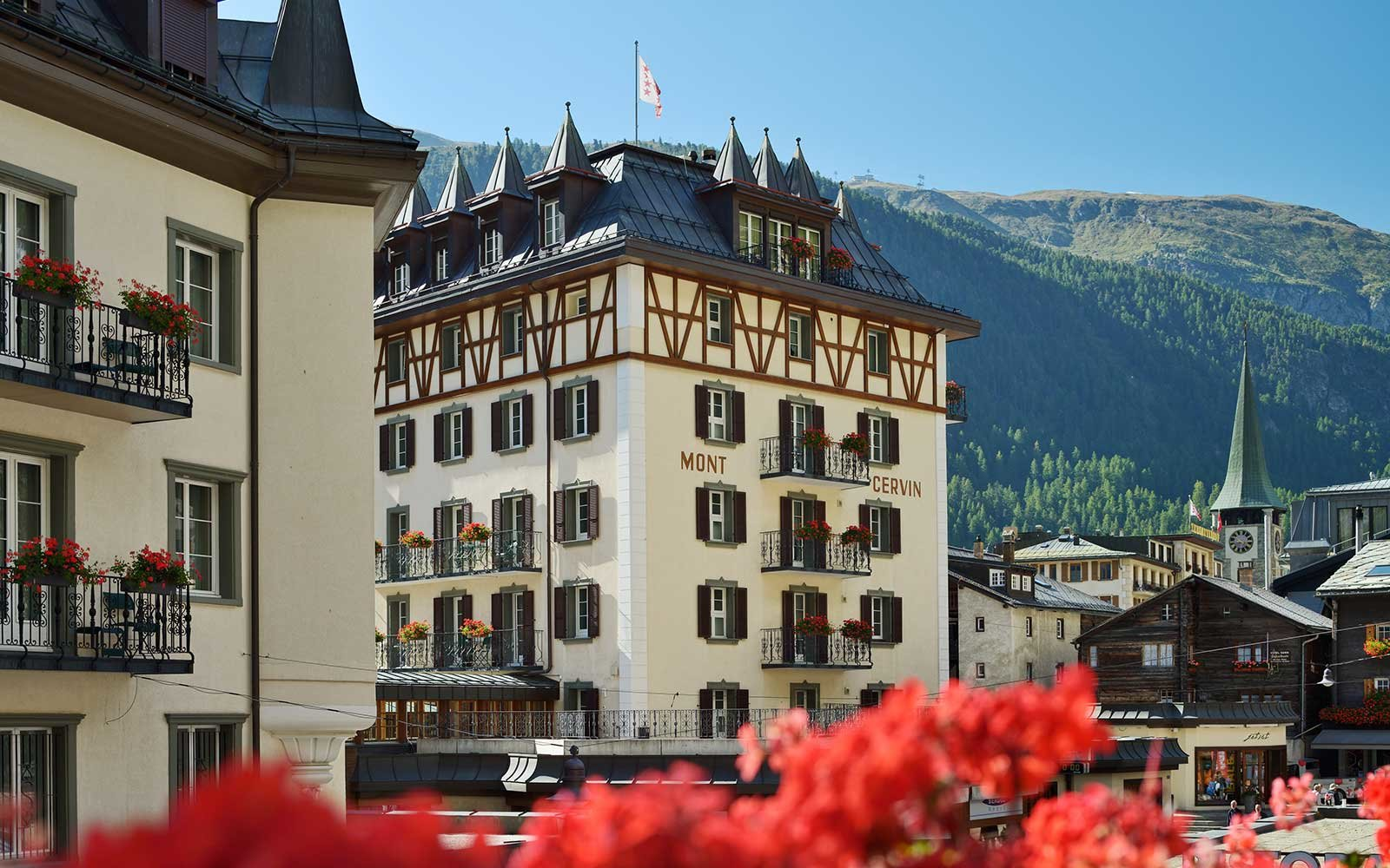 Mont Cervin Palace Resort Hotel in Europe