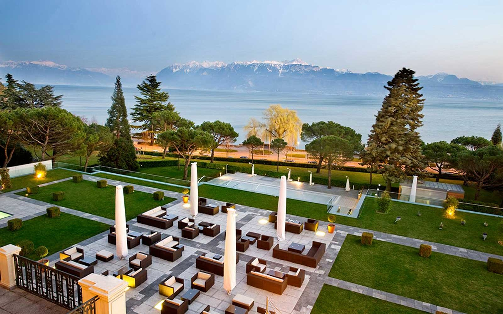 Beau-Rivage Palace Resort Hotel in Europe