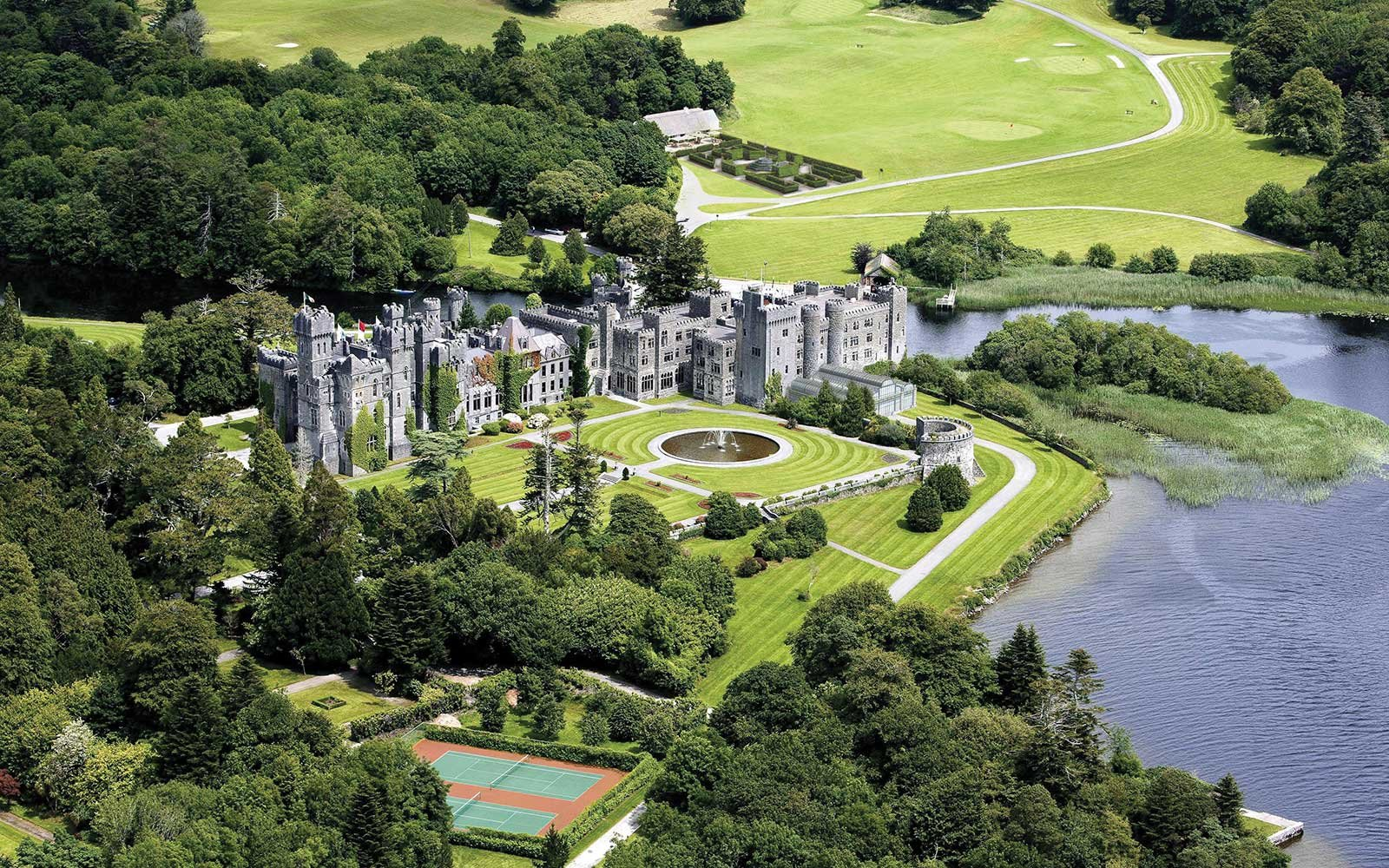 6. Ashford Castle, County Mayo, Ireland