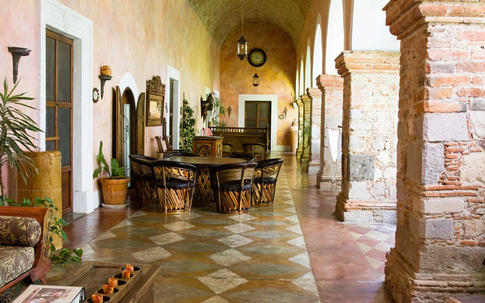 Guanajuato, Mexico: Hacienda las Trancas is a renovated ex-hacienda that is now a hotel near San Miguel Allende, Mexico