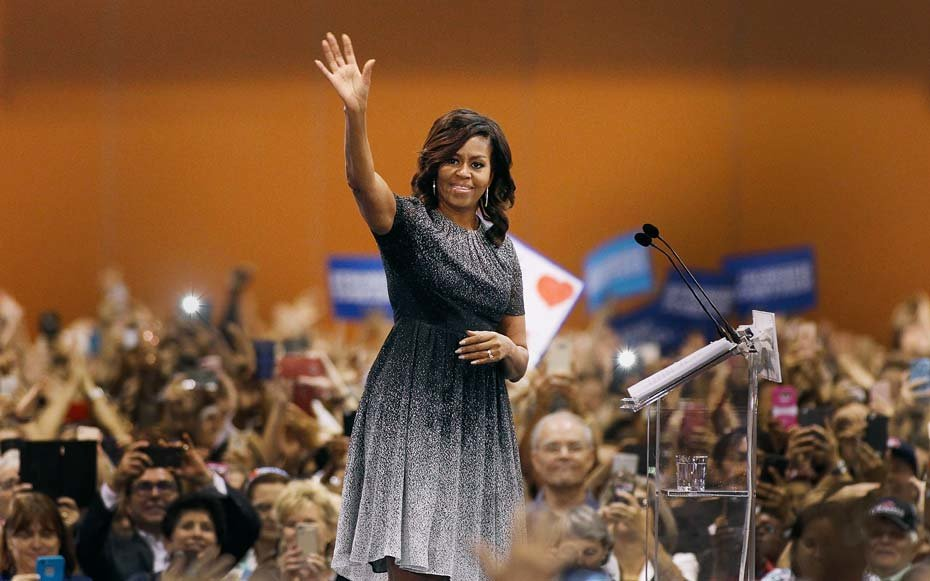 Michelle Obama in Italy
