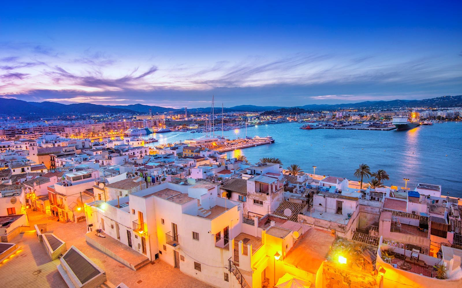 Ibiza, Old Town and Harbour
