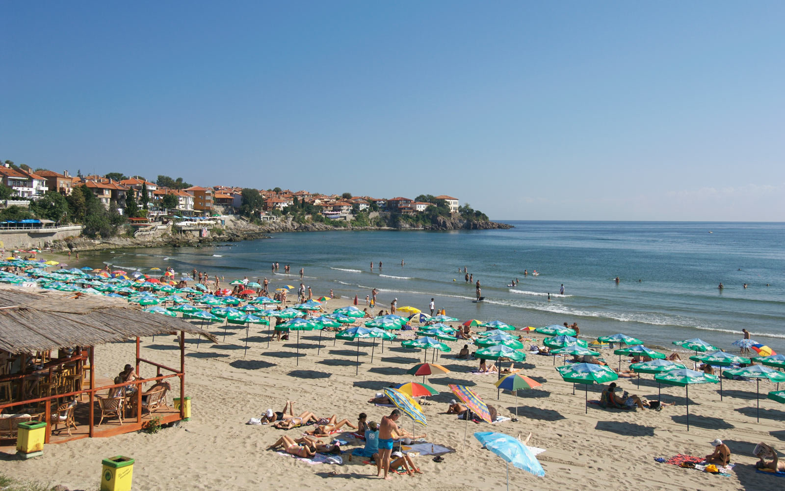 Beach, Sozopol, Bulgaria