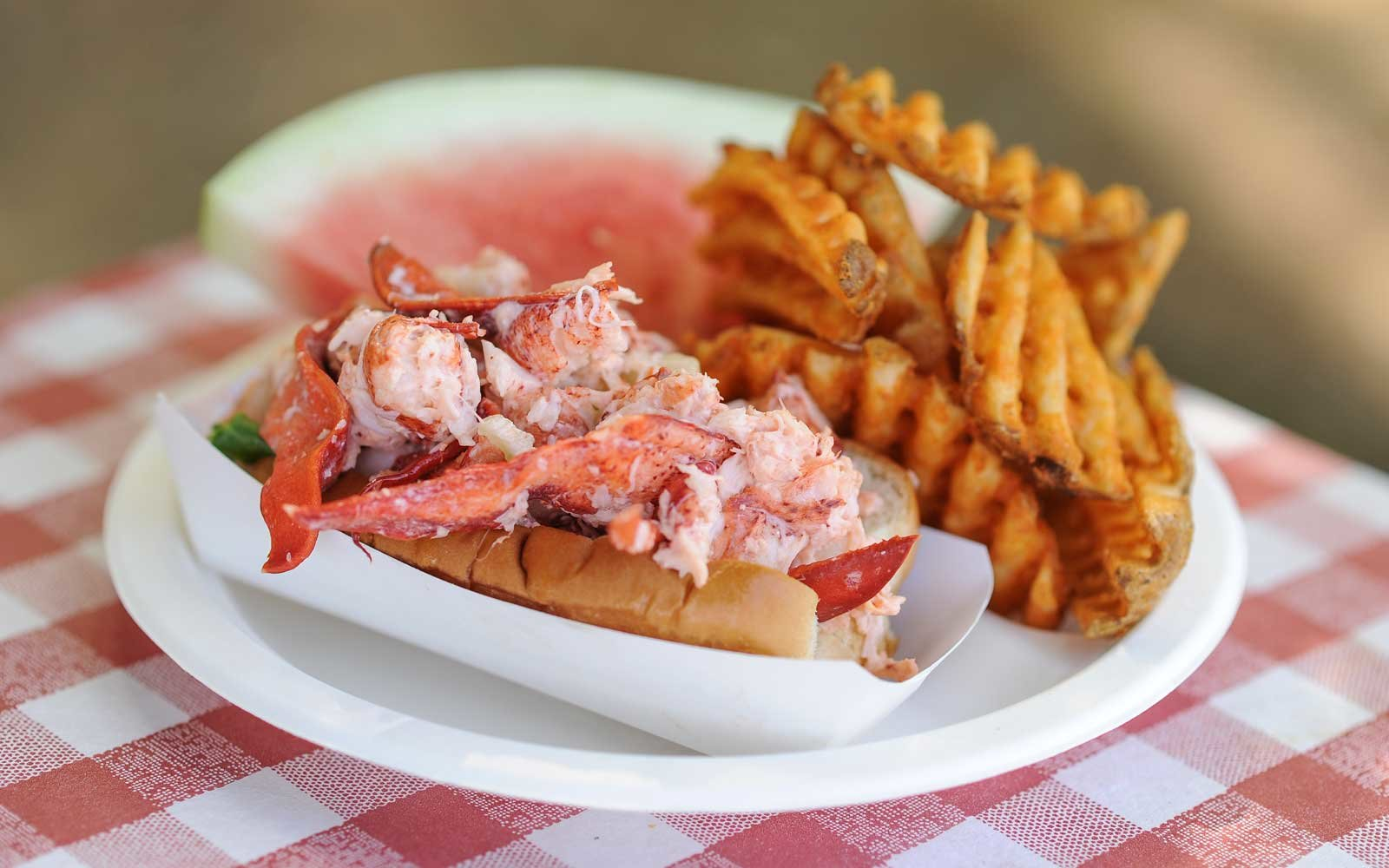 Homemade Lobster Rolls