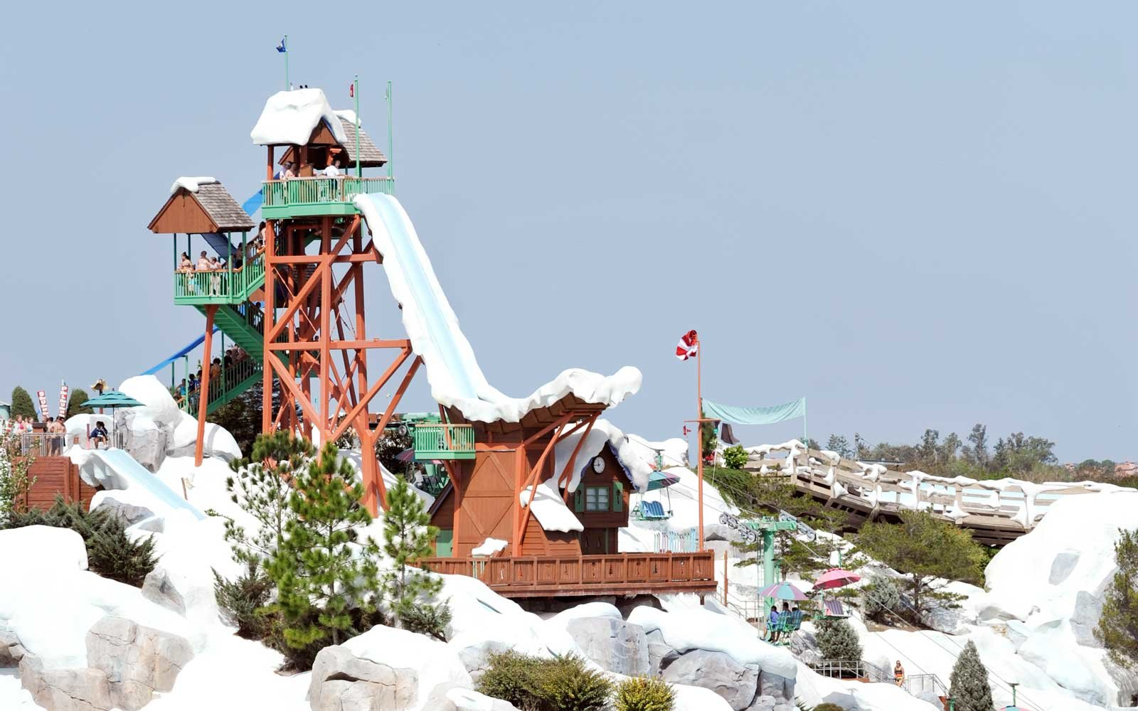 Summit Plummet — Blizzard Beach at Disney World, Florida