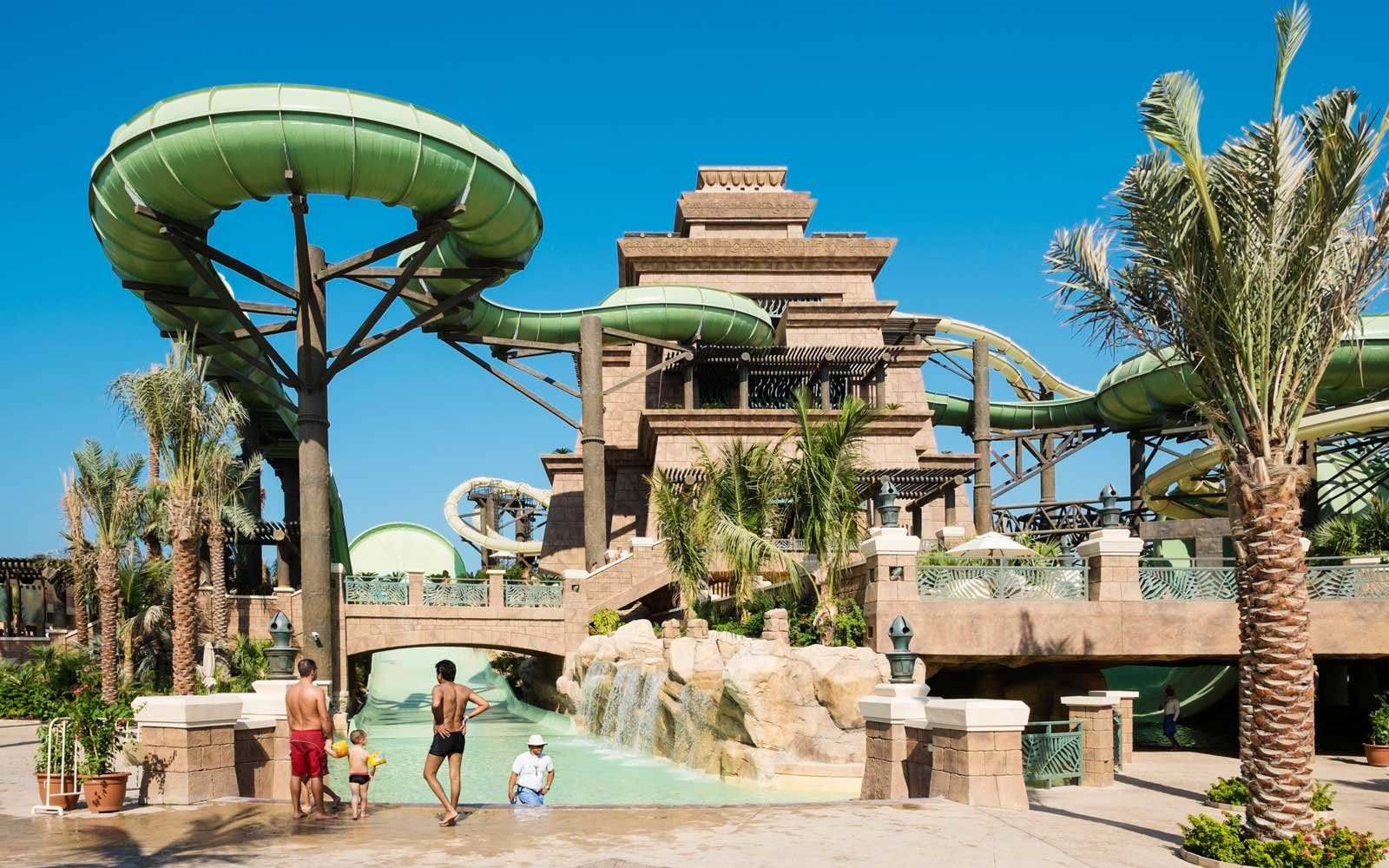 Poseidon's Revenge — Aquaventure Water Park at Atlantis the Palm, Dubai