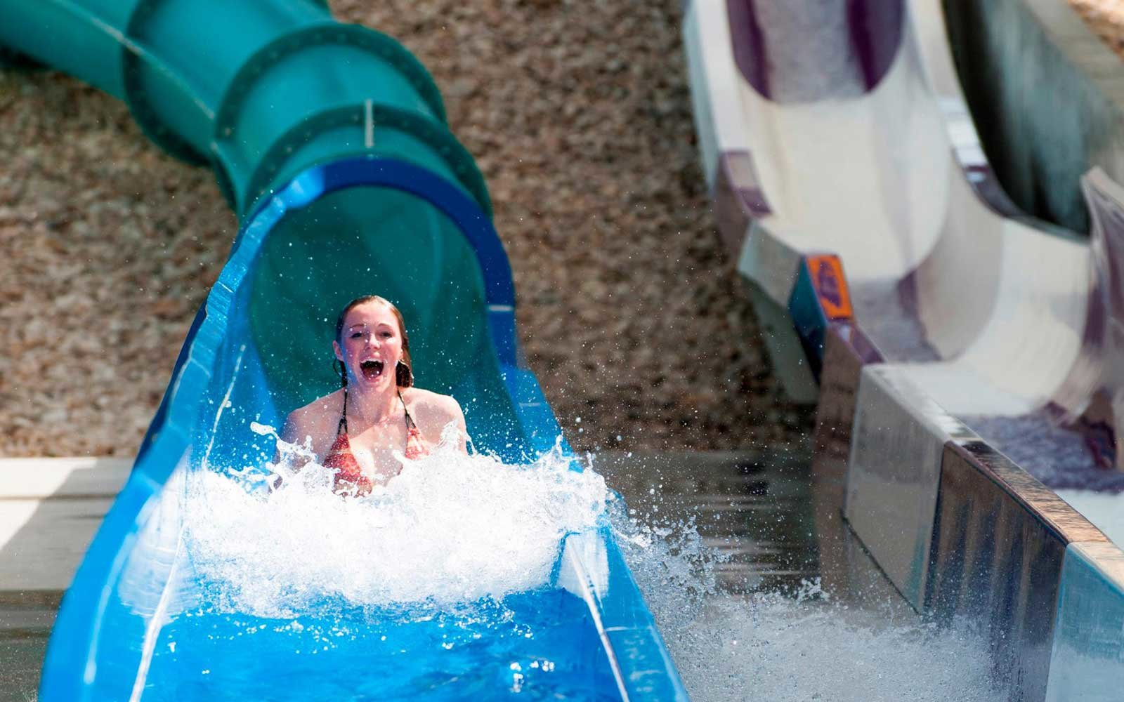 Corkscrew Cavern — Roaring Springs Waterpark, Idaho