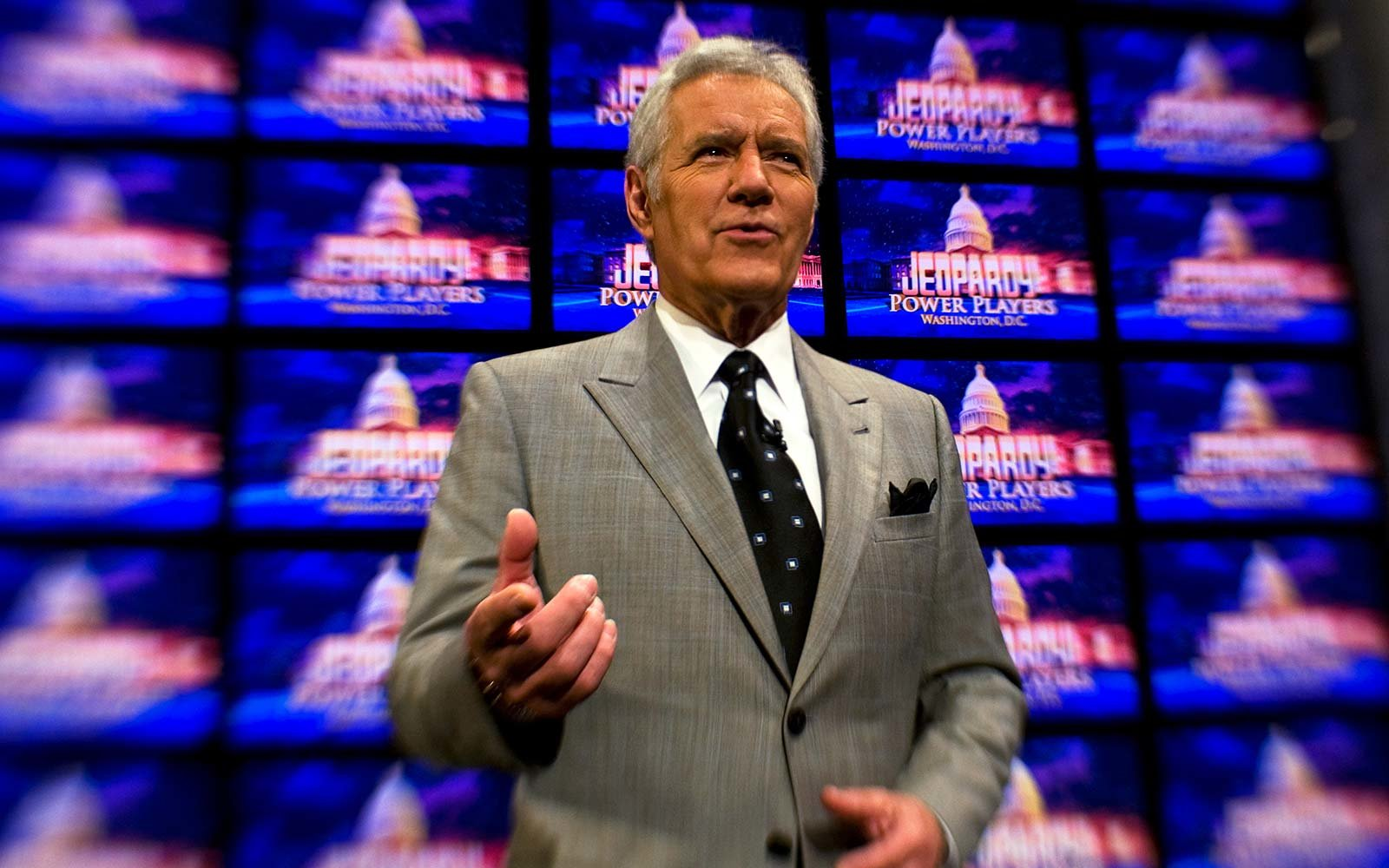 Alex Trebek Jeopardy game show auditions