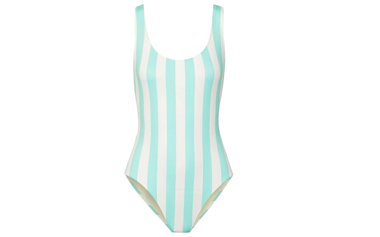 ee2d713c0e3 Solid   Striped Anne-Marie One-piece Swimsuit