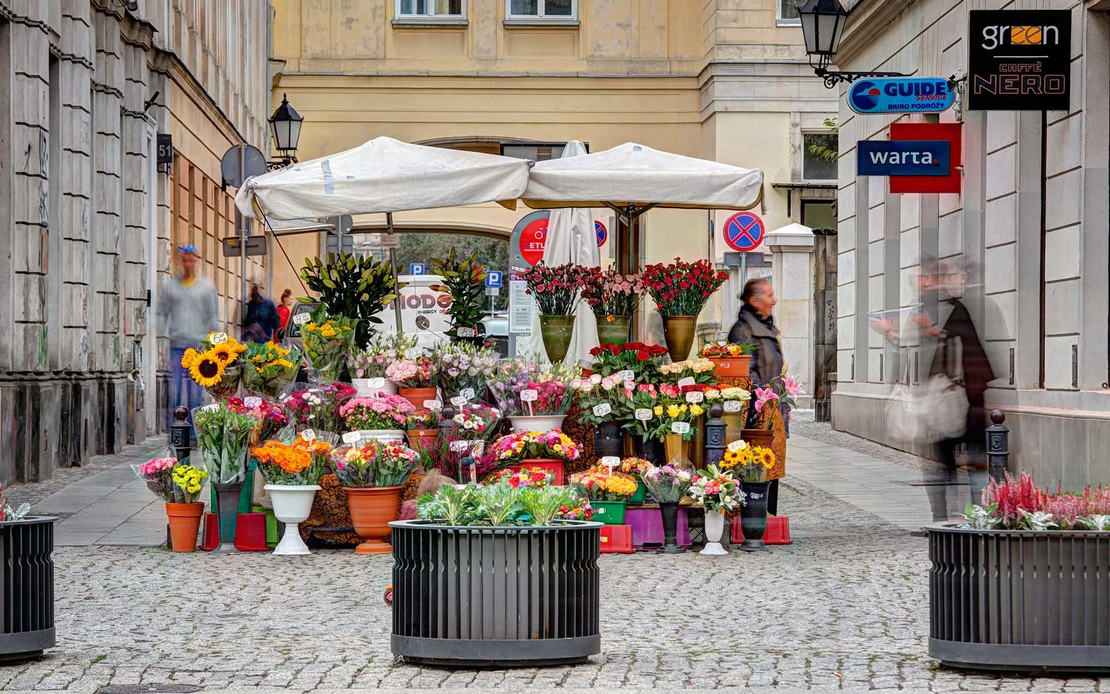 Flower shop in Warsaw