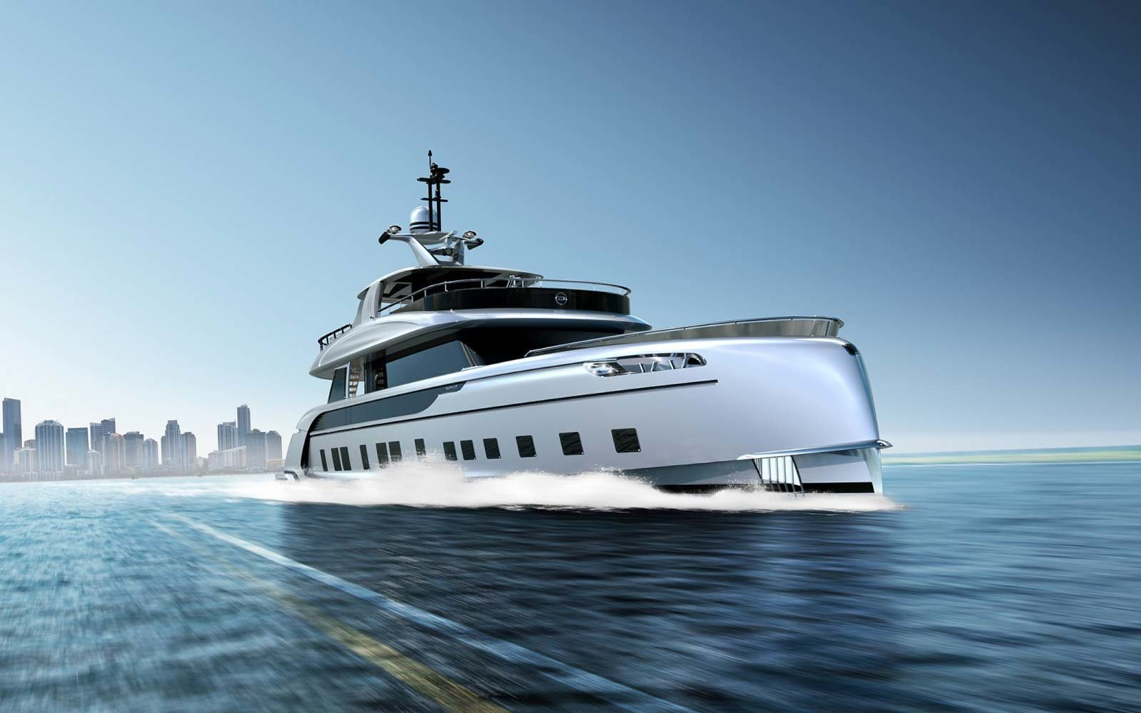 Dynamiq Custom Luxury Porsche Yachts Miami