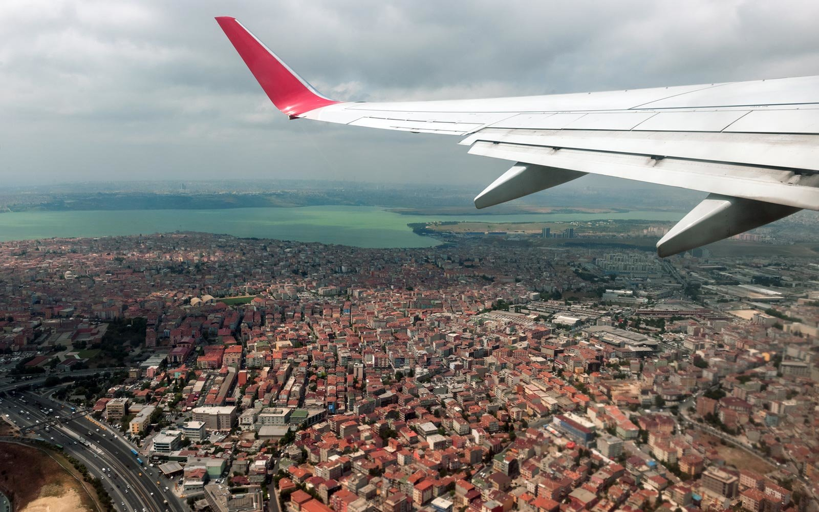 Turkish Airlines Airplane, Istanbul, Turkey