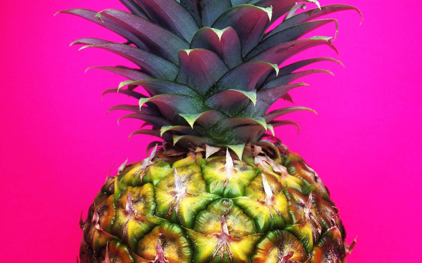 Pink Pineapple Fruit