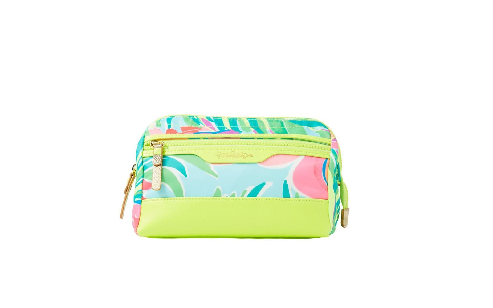da4e07d4f01d Weekend  Lilly Pulitzer Travel Dopp Cosmetic Case. This brightly printed  makeup ...