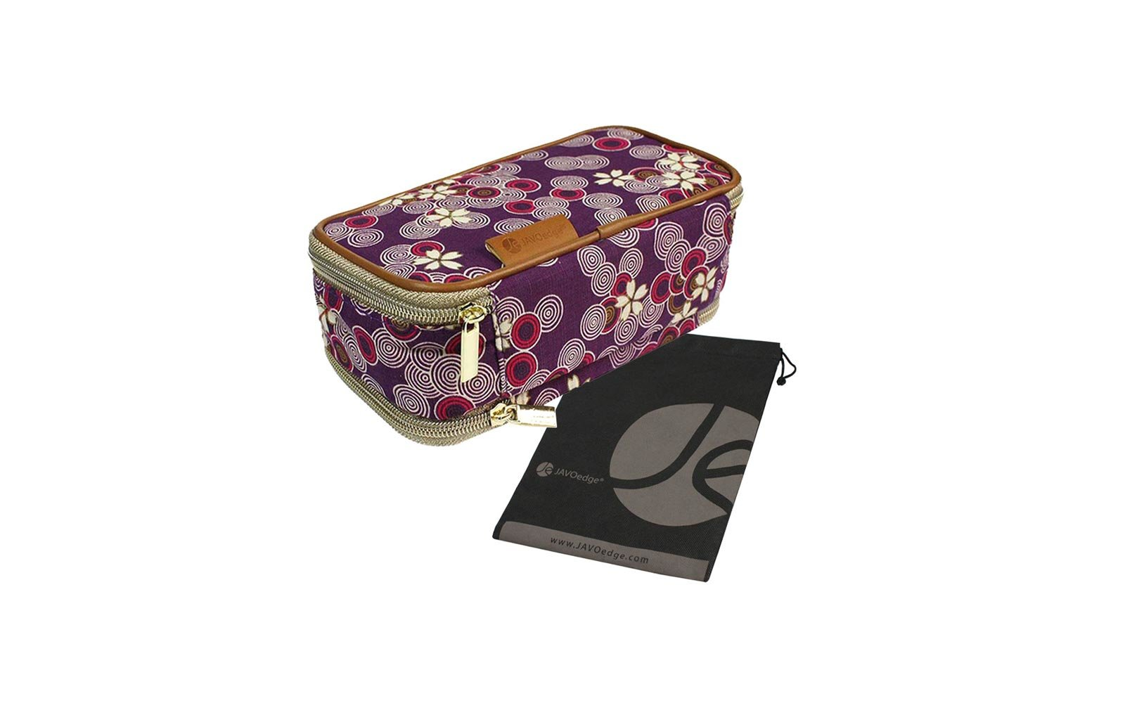 3989469855 Week  JAVOedge Travel Organizer in Cherry Blossom Purple