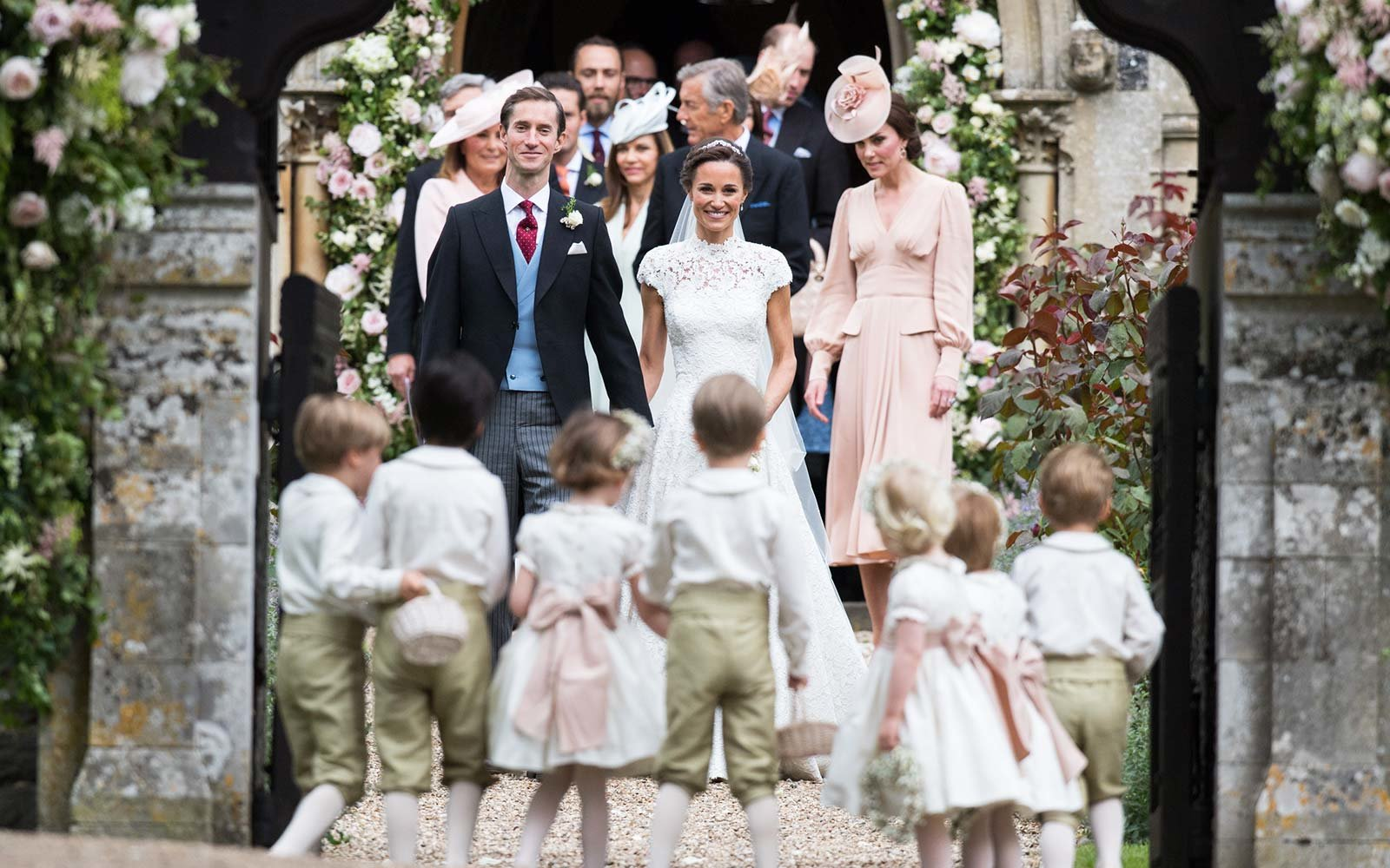 Pippa Middleton and James Matthews marriage royal wedding church England