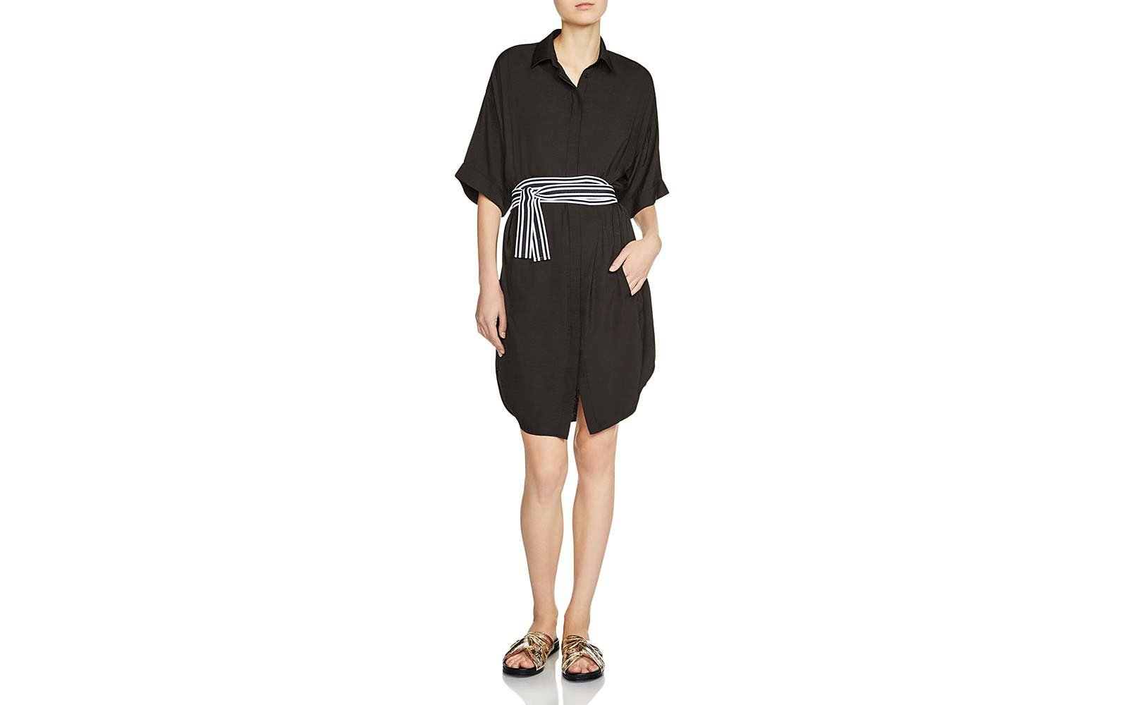 Maje wrap dress