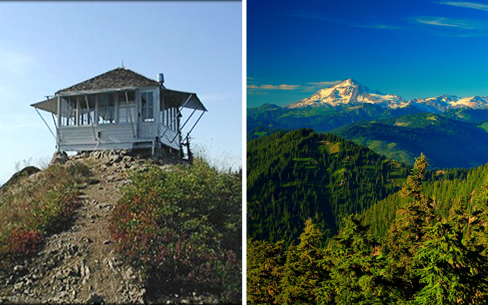 Fire Lookouts in National Forests