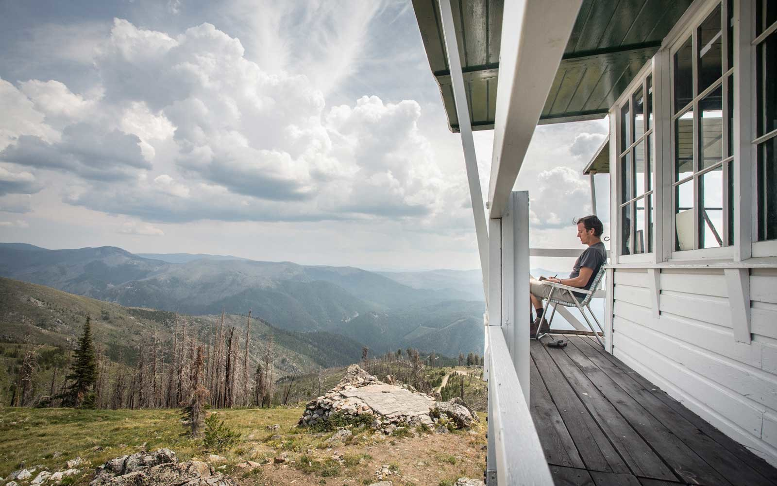 You Can Camp Above The Trees In These Fire Towers Travel