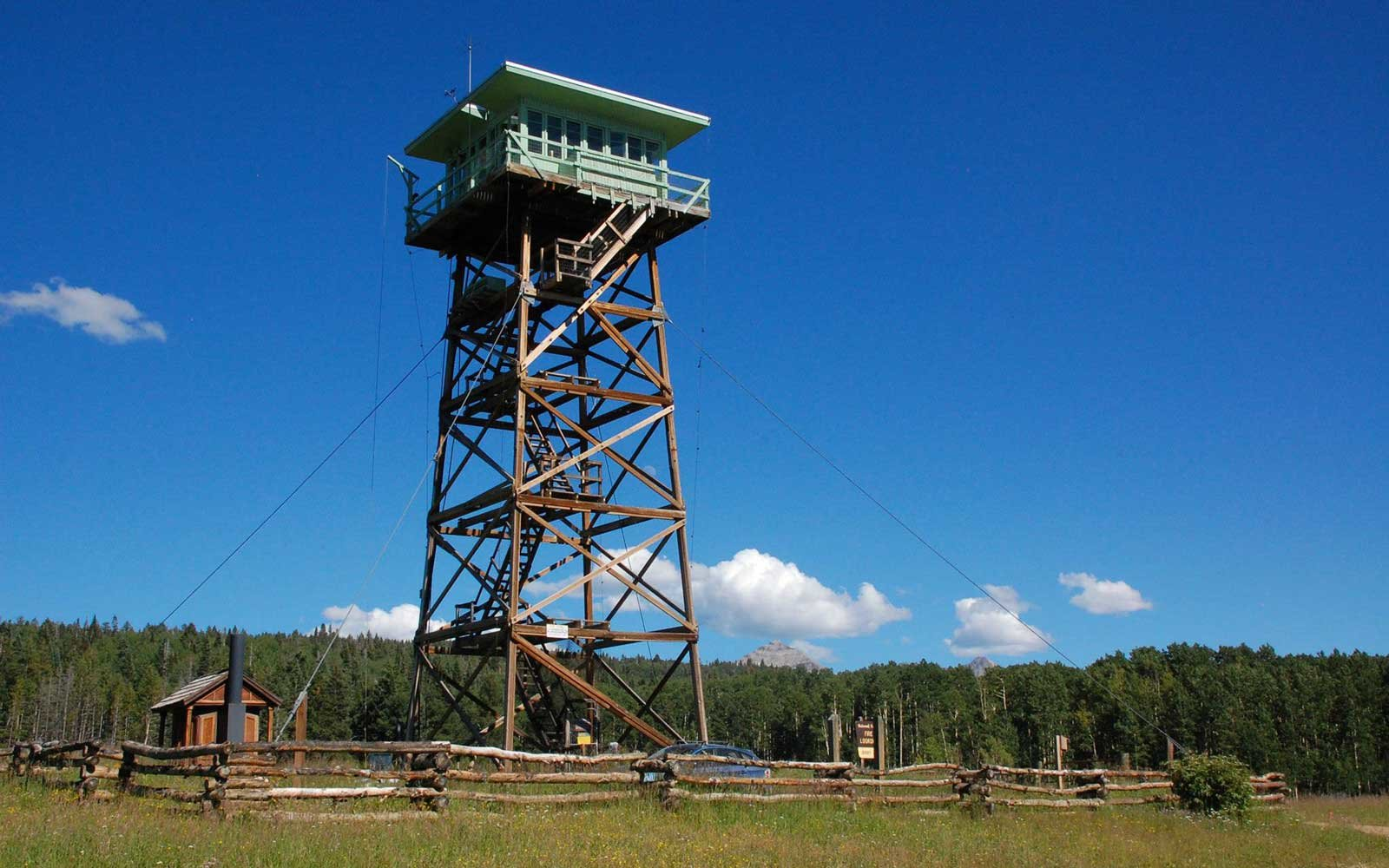 Jersey Jim Fire Lookout Tower, Colorado