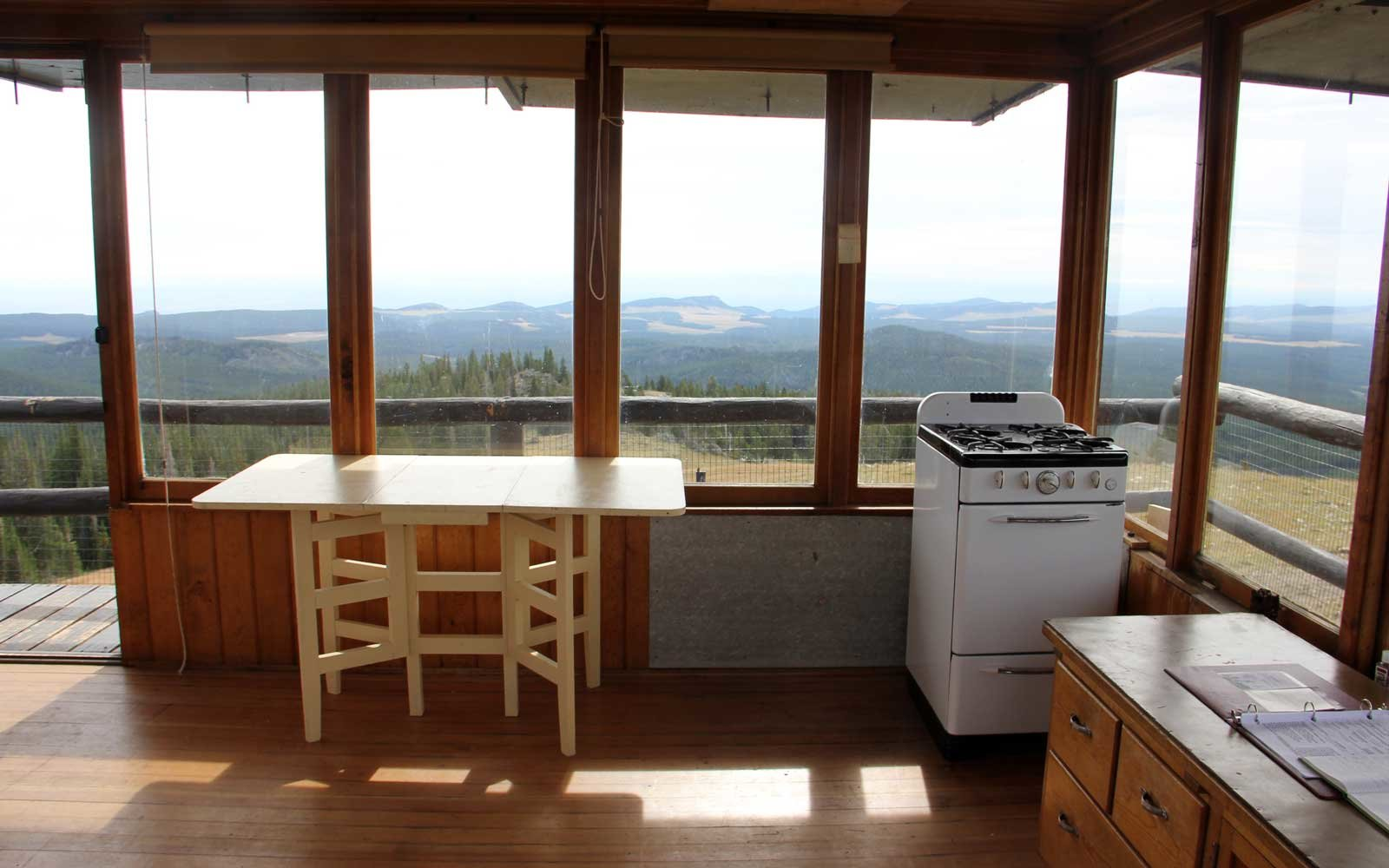 Sleep in a Fire Tower in Wyoming