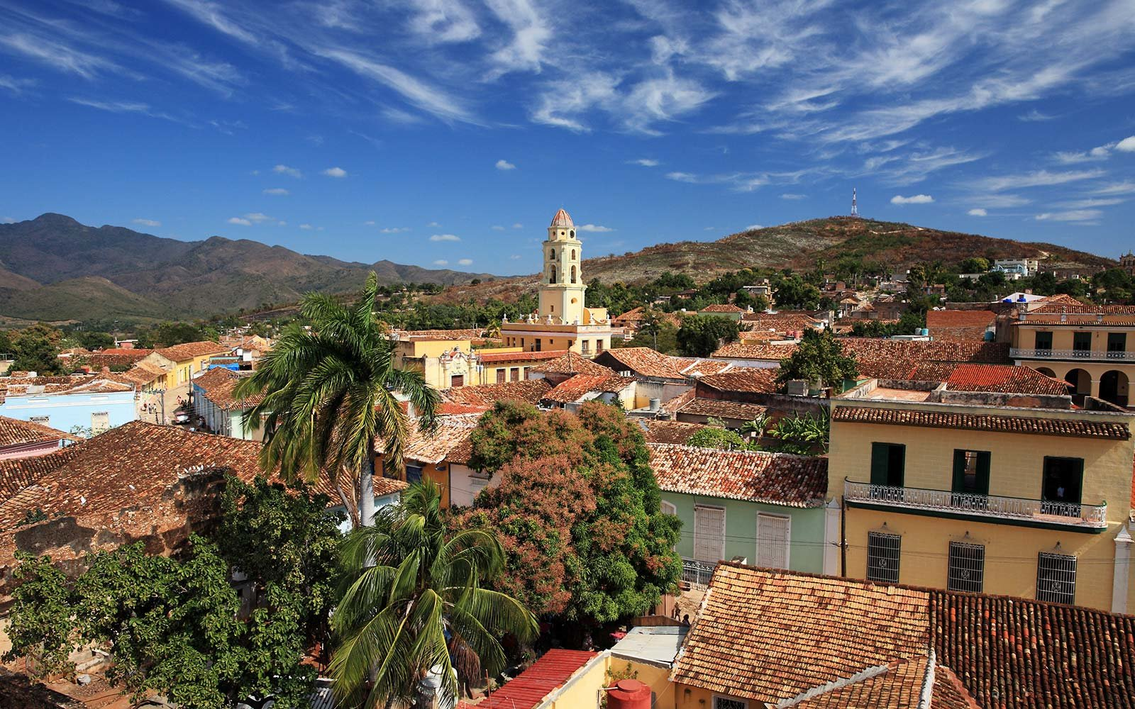 Church and Convent of San Francisco in Trinidad Cuba
