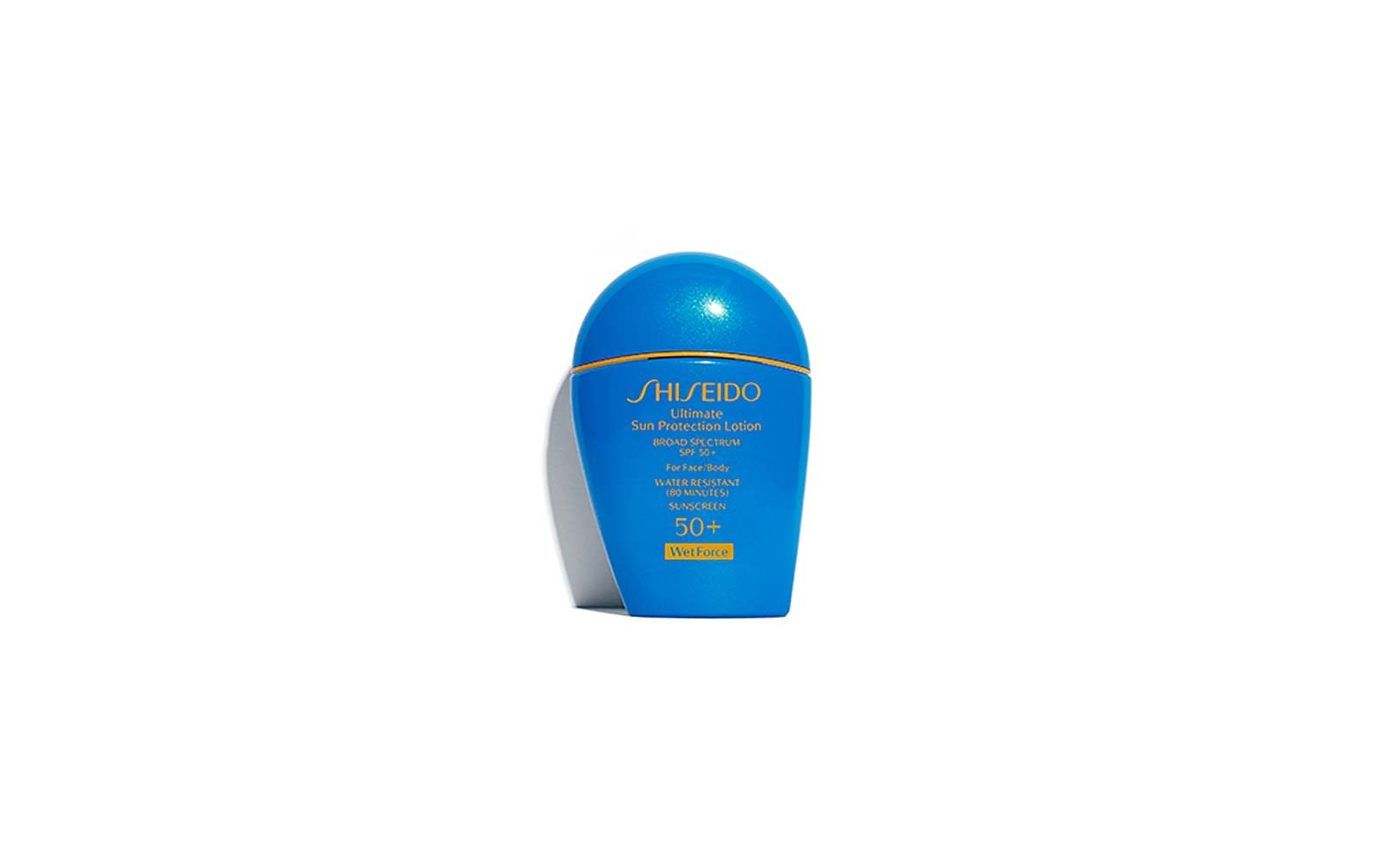 Shiseido Ultimate Sun Protection Lotion Wetforce Broad Spectrum