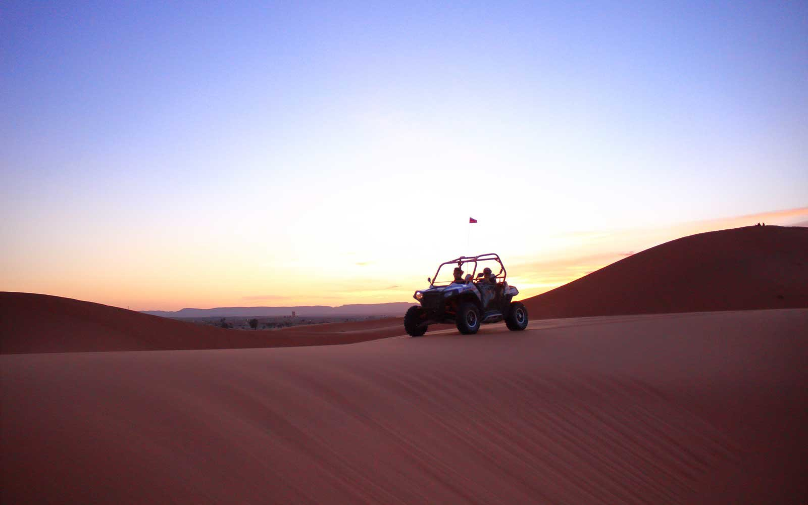 Go dune buggying in the Sahara
