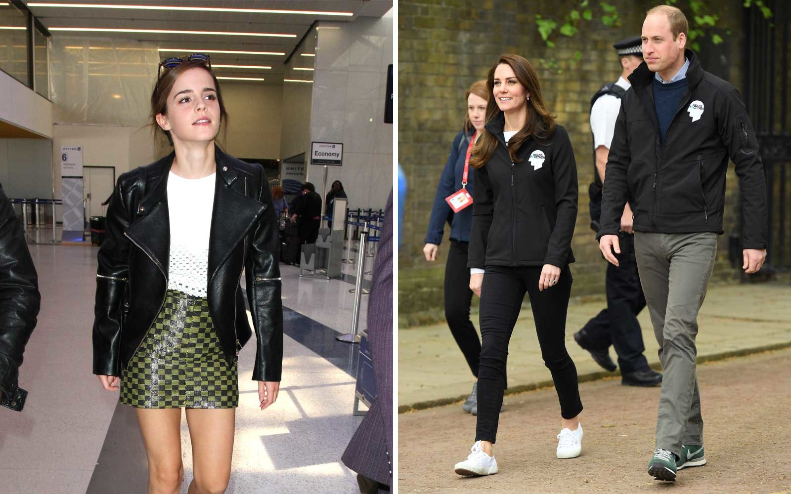 23f06de67239e Emma Watson and Kate Middleton Go Everywhere in These  65 Sneakers ...