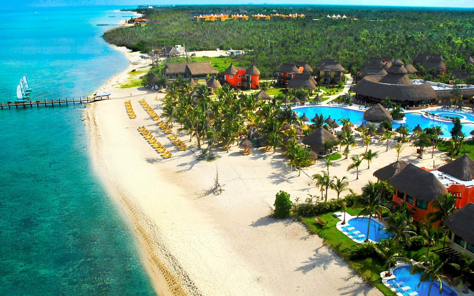All inclusive resorts in cozumel travel leisure for Best all inclusives in mexico for couples