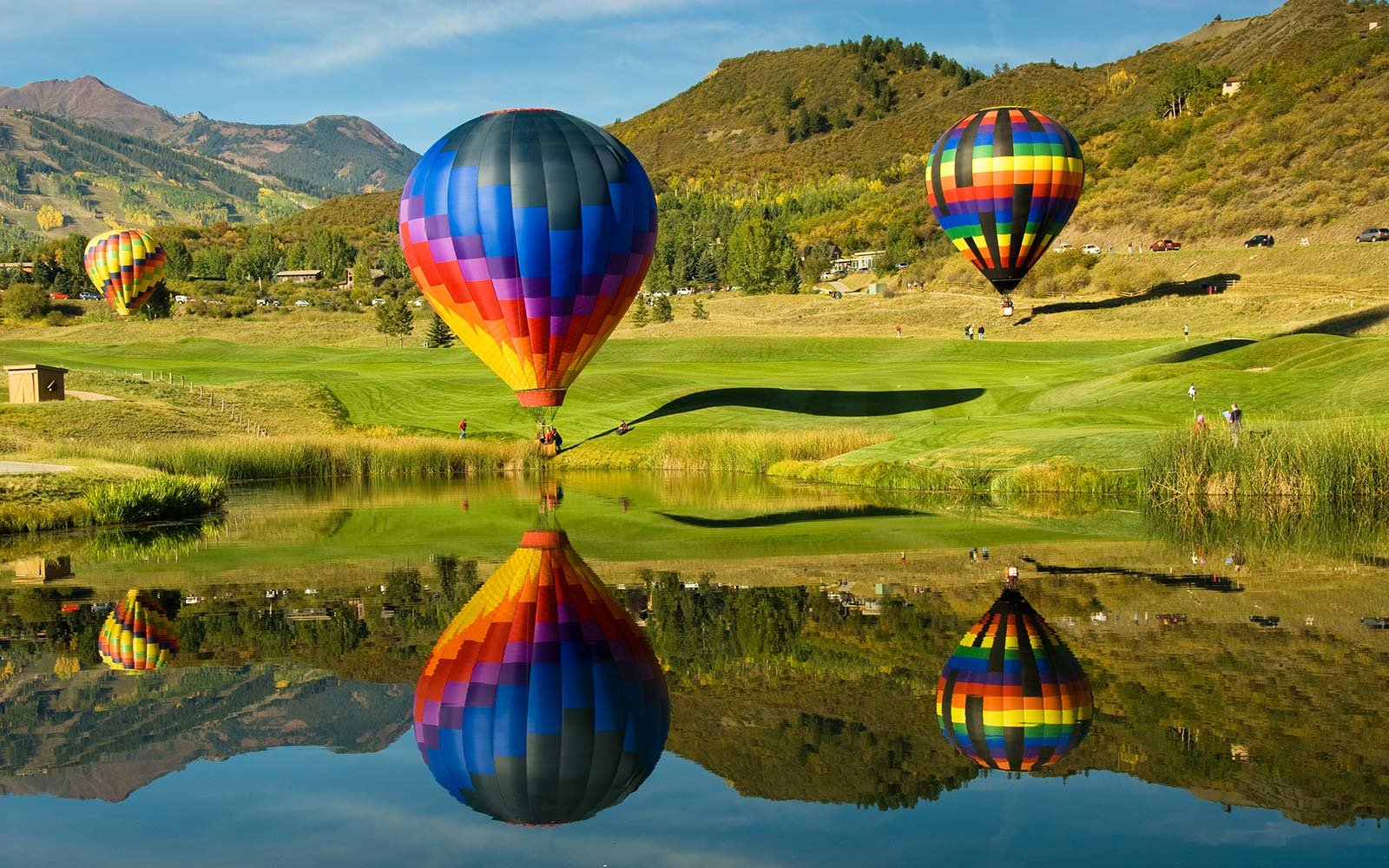 balloon festival in Aspen Colorado snowmass