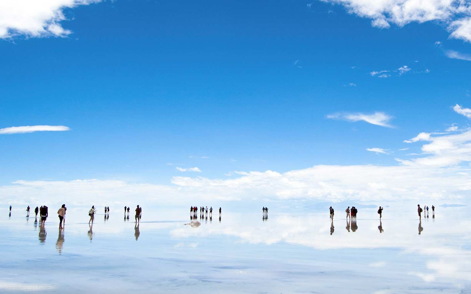 The Salar of Uyuni Bolivia