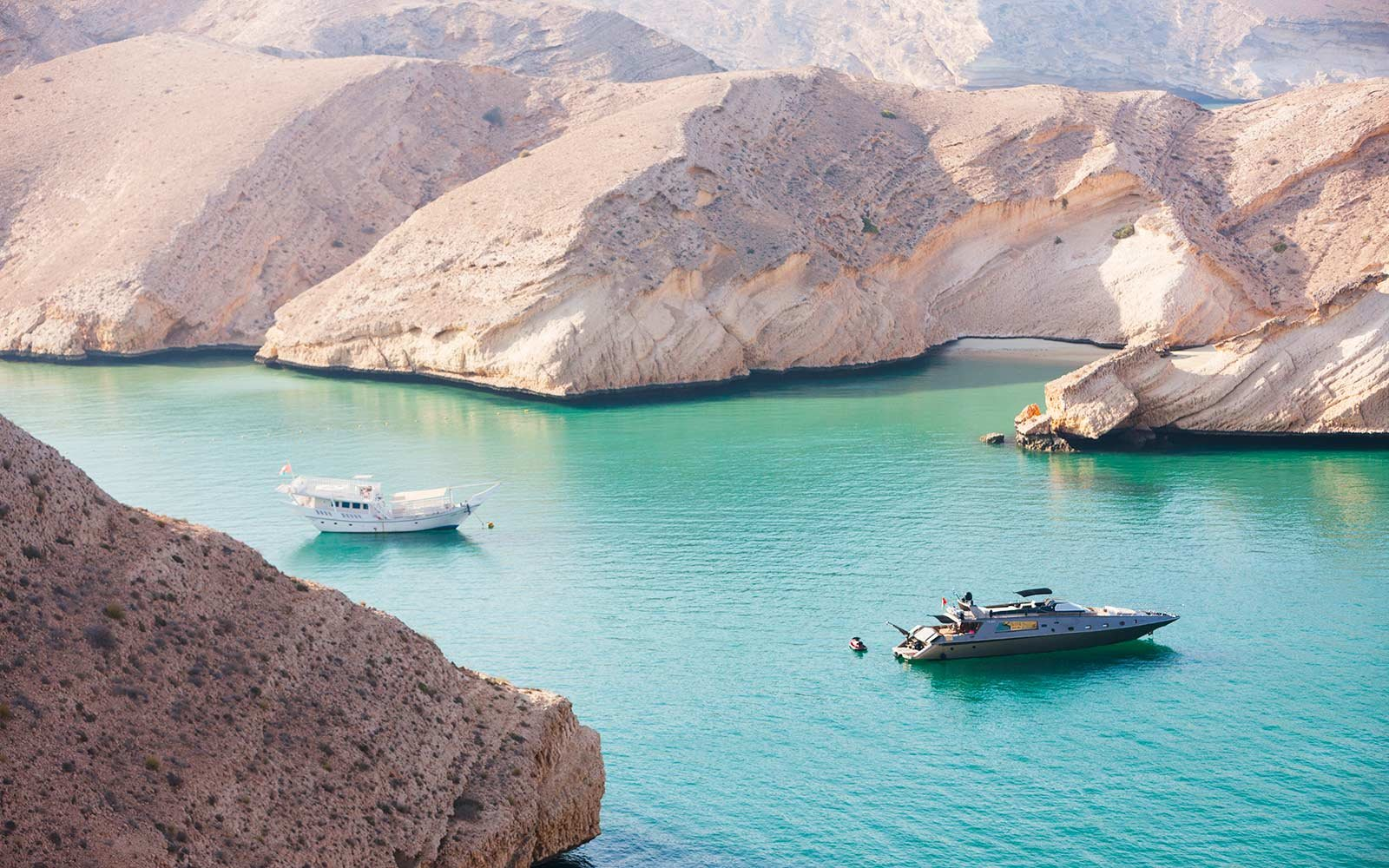 Gulf of Oman yachts