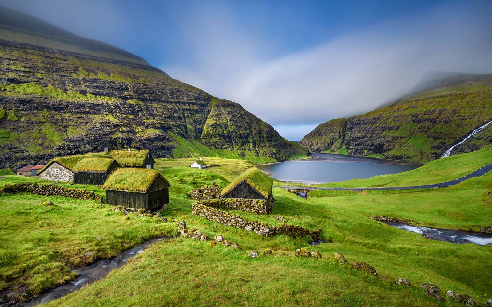 Saksun, Faroe Islands, Denmark