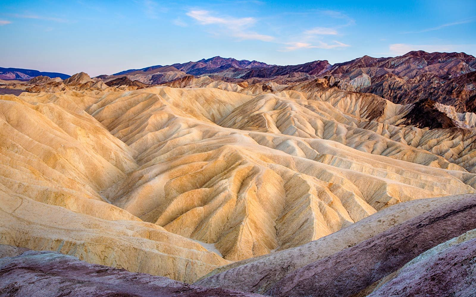Zabriskie Point, Death Valley National Park, California