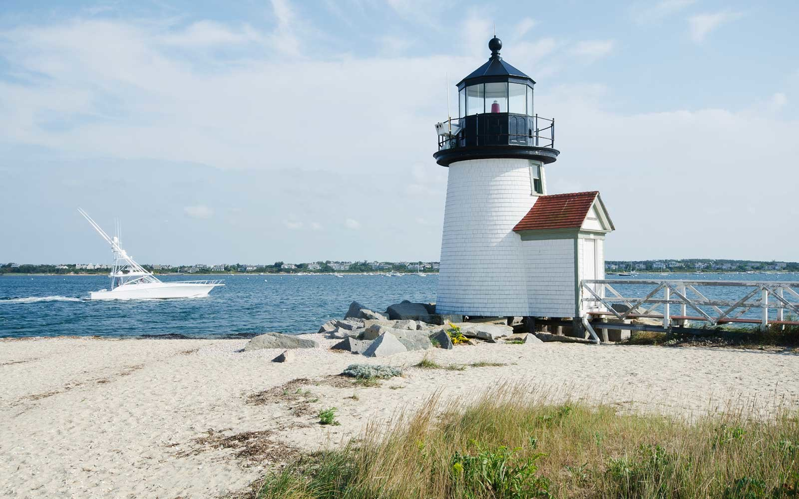 Brant Point Lighthouse, Nantucket Island, Massachusetts USA