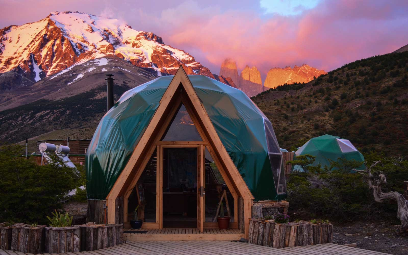 2. EcoCamp Patagonia, Torres del Paine National Park, Chile