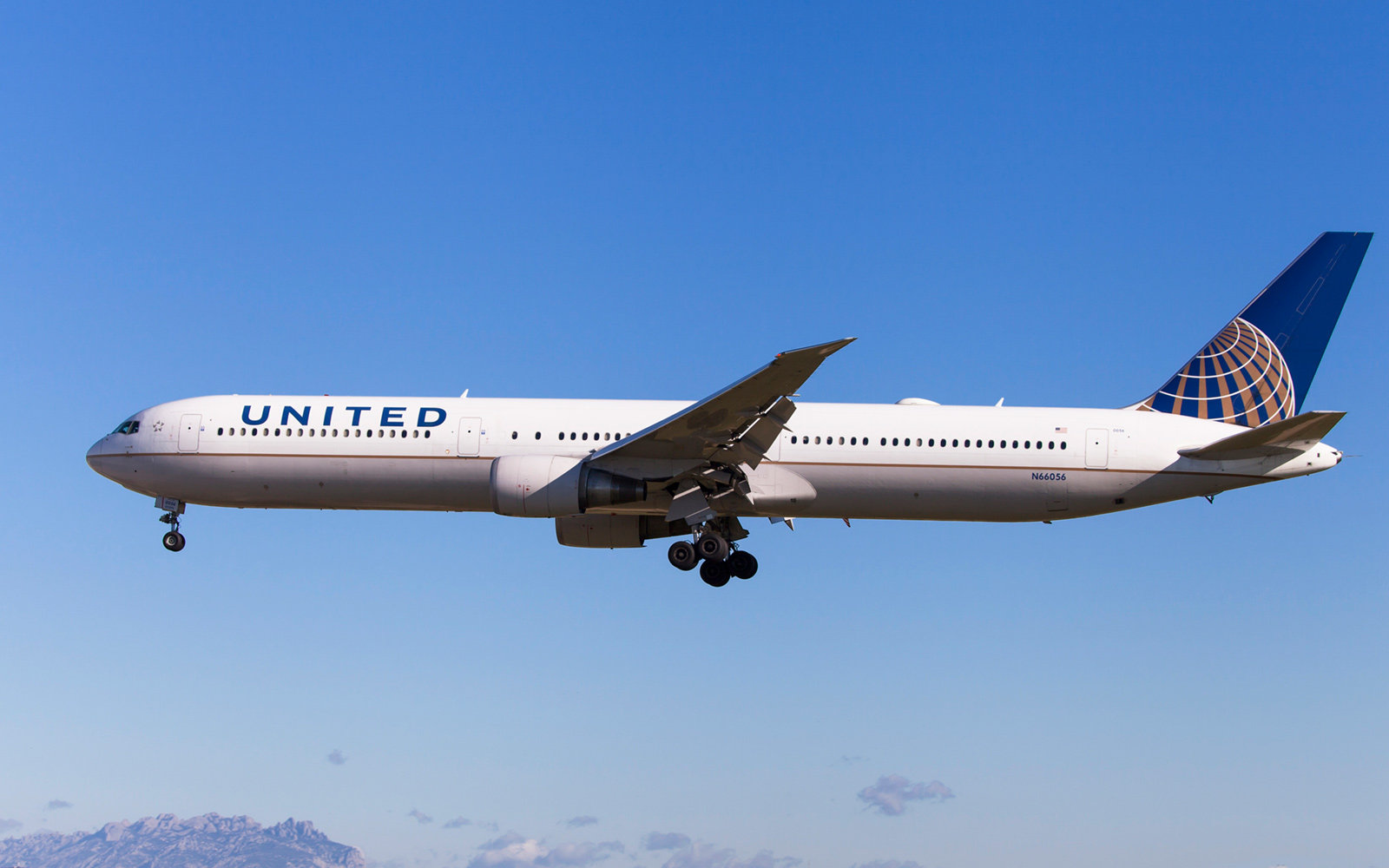 United Airlines, Boeing 767-400ER